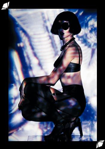 What Katie Did Maitresse bullet bra and garter belt in Wylde magazine