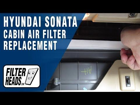 Pin On Hyundai Cabin Air Filter Replacement Videos