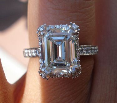 The Ring by Tacori. It can only be emerald cut.