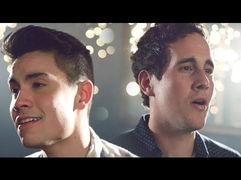 An incredibly mix  of Ed Sheeran's Thinking Out Loud and Sam Smith's I'm Not the Only One by Sam Tsui and Casey Breves