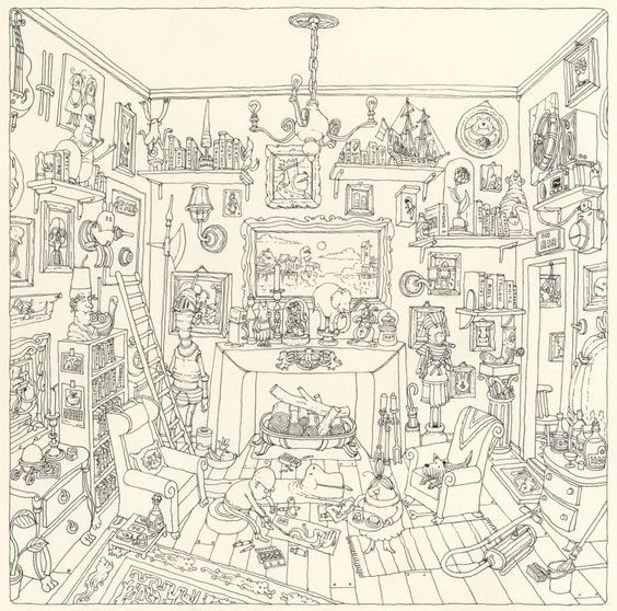 the drawing room by Mattias Adolfsson