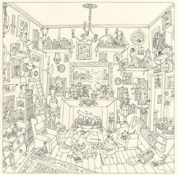 the drawing room by Mattias Adolfsson