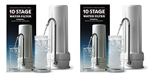 New Wave Enviro 10 Stage Water Filter System Pack Of 2 Water Filters System Water Filter Filters