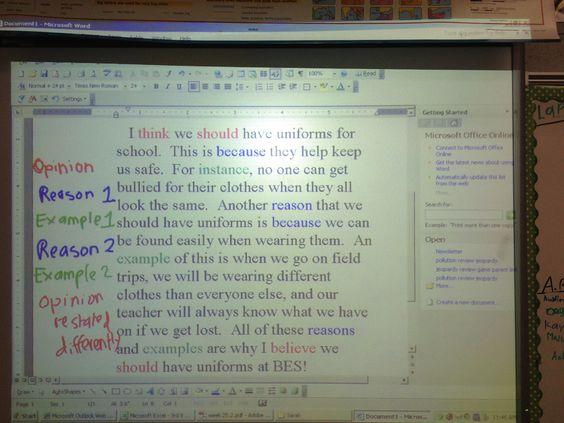 reflexion essay