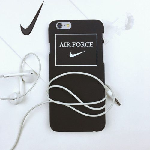 Nike air force einfach Mattglasbirne Liebespaar Handyhülle
