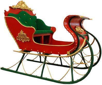 Santa's Sleigh by Possible Dreams