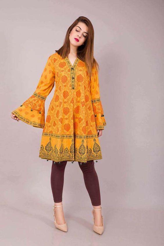 Pin By Arfa Ali On Kleider Frock Fashion Pakistani Dress Design Frock Design