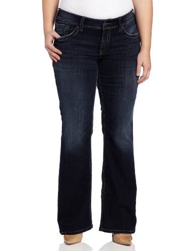 Silver Jeans Juniors Plus-Size Suki Surplus Bootcut Jean