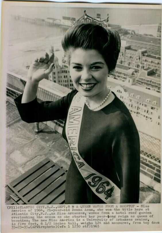 Donna Axum, Miss America 1964 (Arkansas)