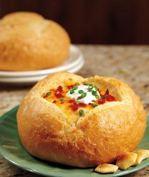 Loaded Baked Potato Soup (Crockpot)