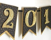 2016 Banner - 2016 New Year Banner - 2016 Graduation Banner - New year decor  - New Years Eve Decor