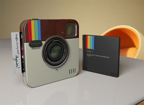 haha! a real life instagram camera