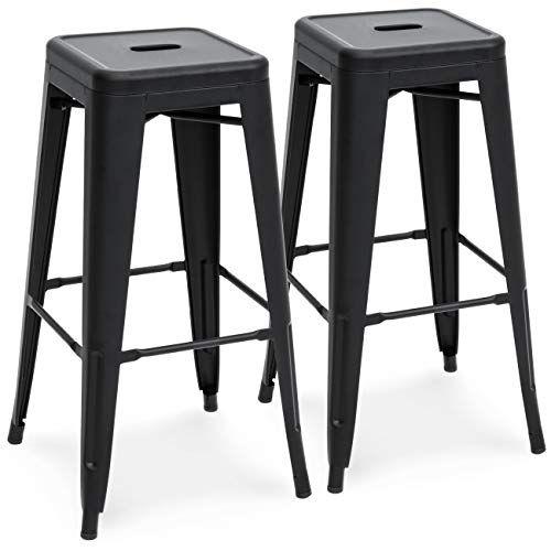 Industrial Style Stools Matte Black Home Decor Matte Black Kitchen Budget Home Decor Fancy But Cheap Ho Metal Bar Stools Industrial Bar Stools Bar Stools