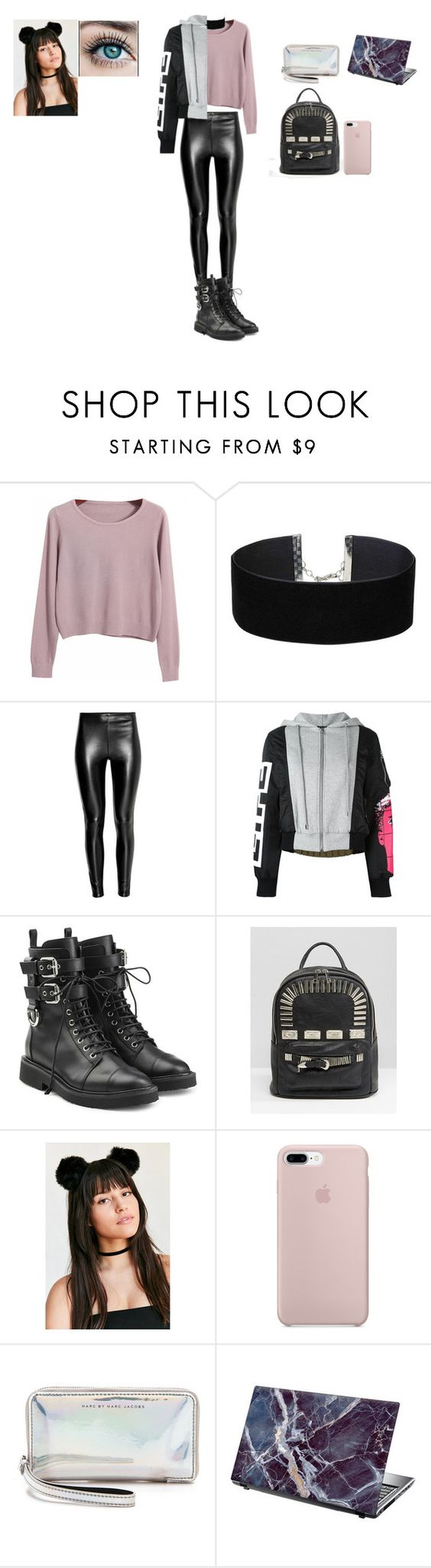 """Başlıksız #342"" by belinda-bailey ❤ liked on Polyvore featuring Chicnova Fashion, Miss Selfridge, Moschino, Giuseppe Zanotti, ASOS and Marc by Marc Jacobs"