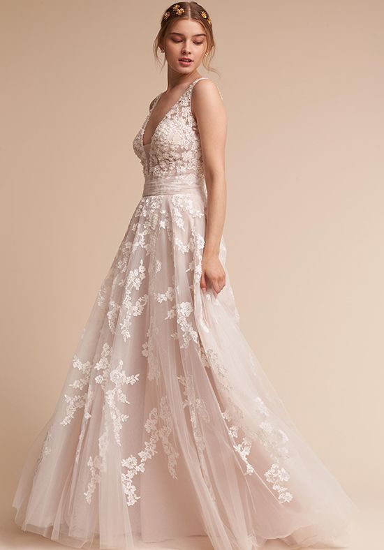 Bhldn Wedding Dresses The Knot Sophisticated Wedding Dresses Bhldn Wedding Dress A Line Wedding Dress