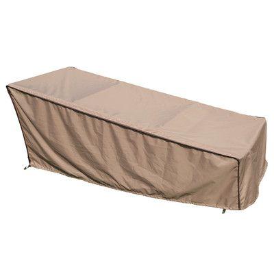 Sorara USA Chaise Lounge Cover Size: Large