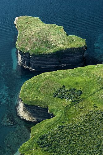 Bell Island, Newfoundland's Avalon Peninsula in Conception Bay: