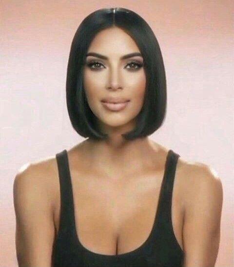 Bluntbob Kim Kardashian Short Hair Kim Kardashian Hair Short Hair Styles