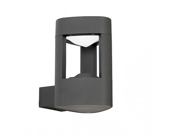 Endon EL-40074 Tribeca Wall Light IP54 9W Daylight White