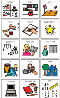 Kindergarten Daily Schedule Cards - Bing Images--boardmaker