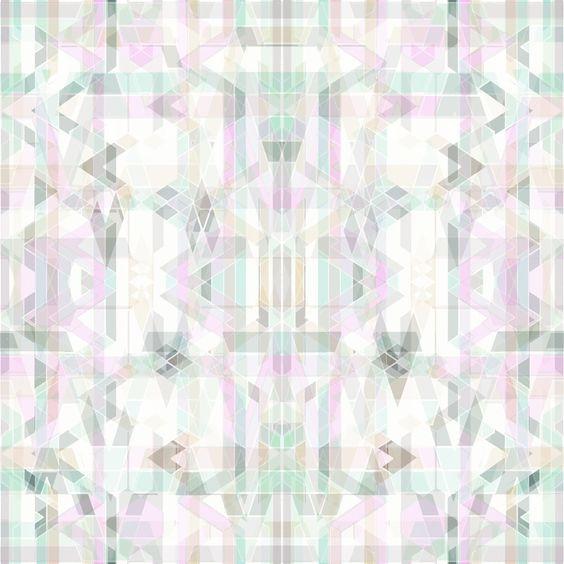Geometric Kaleidoscope Print