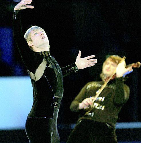 Evgeni Plushenko, 2006 EX  + Edvin Marton