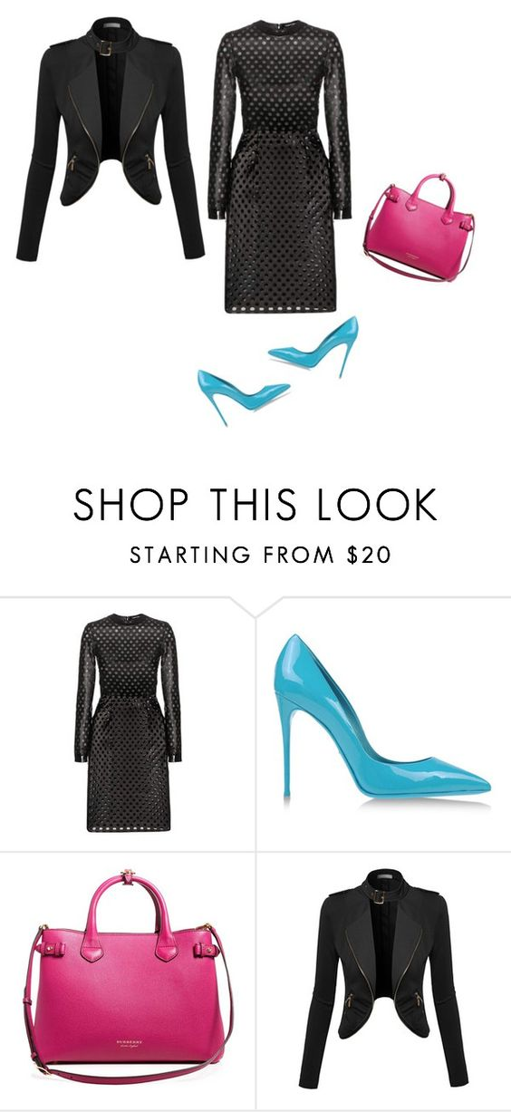 """""""bold"""" by princesaurbana on Polyvore featuring Tom Ford, Dolce&Gabbana and Burberry"""