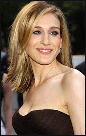 Sarah Jessica Parker Frisur Haar Und Beauty Und Beauty Einfache Frisuren Medium Length Hair Styles Hair Styles Medium Hair Styles