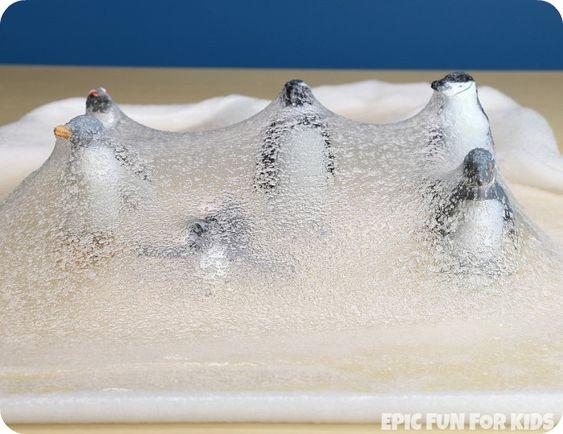 how to make iceberg slime recipe