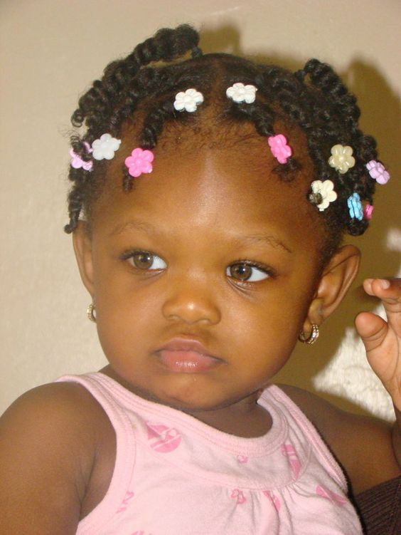 Swell Black Child Child Hairstyles And In Love On Pinterest Hairstyle Inspiration Daily Dogsangcom