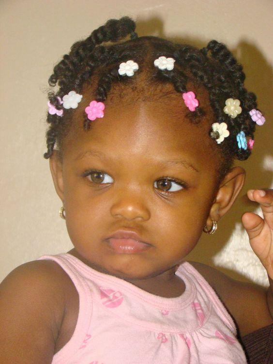 Stupendous Black Child Child Hairstyles And In Love On Pinterest Short Hairstyles For Black Women Fulllsitofus