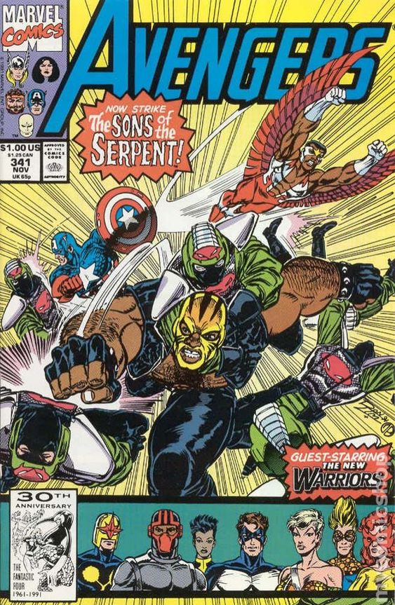 Avengers (1963 1st Series) 341