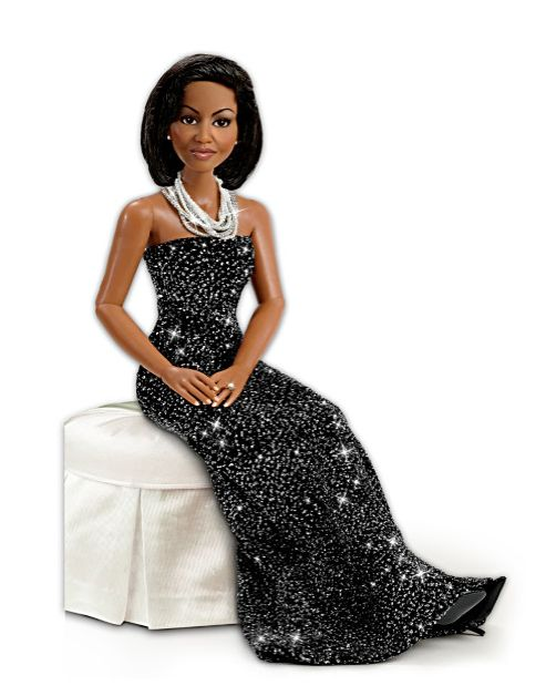 """Michelle Obama Doll """"Sophisticated Style"""" from Ashton-Drake Galleries"""