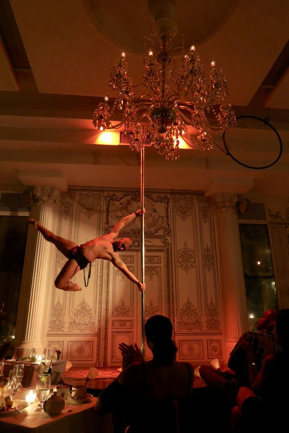 Where to go for the best burlesque shows in New York City - featuring men!