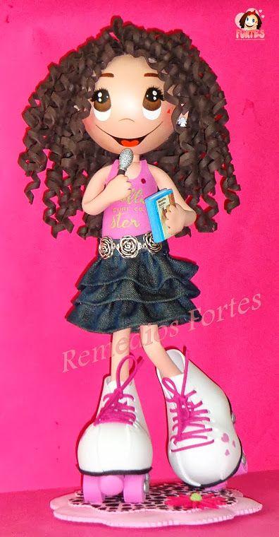 Miriam, patinadora