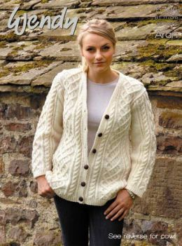 Wendy Aran Ladies Cardigan & Cowl 5704