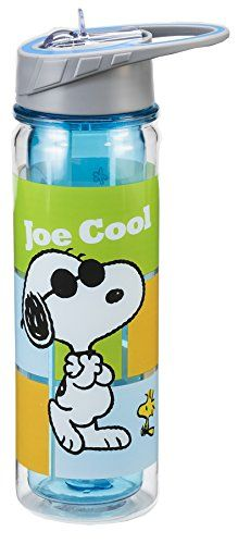 Vandor 85075 Peanuts Tritan Water Bottle, 18-Ounce, Multicolored -- Find out more about the great product at the image link.