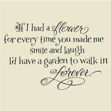 Smile and laugh forever