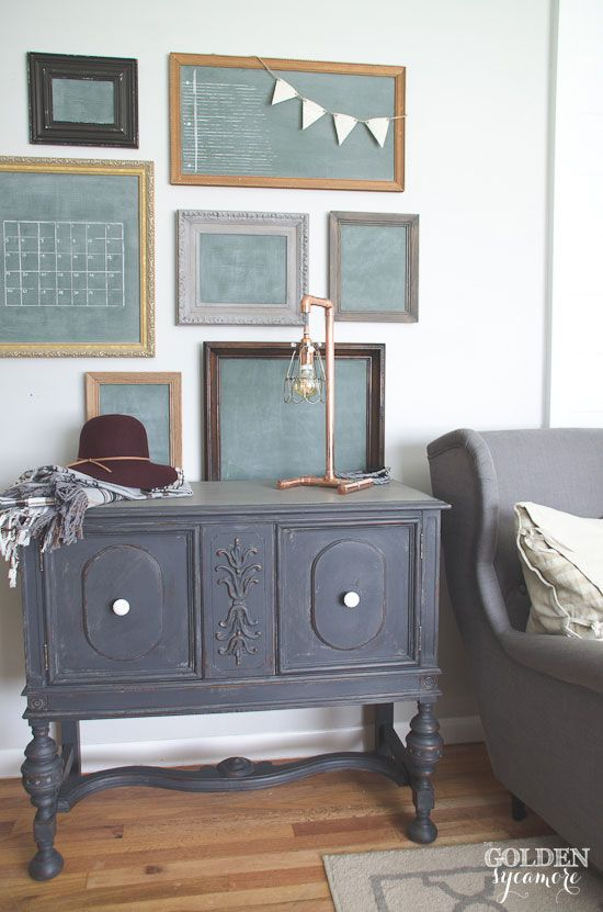 a cool copper lamp what happened to the hutch the golden sycamore decor love pinterest. Black Bedroom Furniture Sets. Home Design Ideas