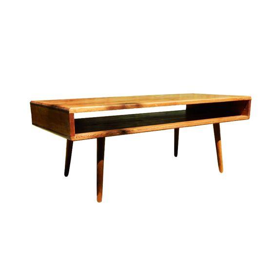 Tealight Display Pine Pine Coffee Table And Bauhaus