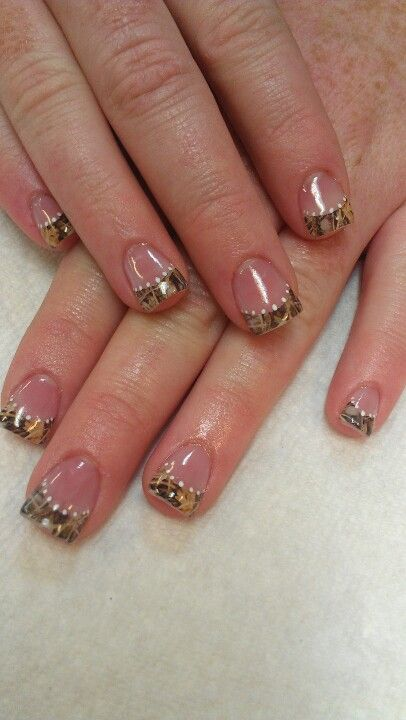 Shidale nails! Special request nails, camo, max 4 camouflage, reeds, duck hunting redneck girl nails!