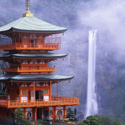 Nachi falls, japan