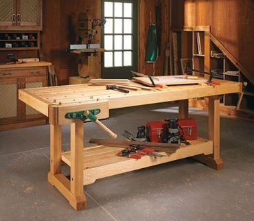 Woodsmith Plans Garage Workshop Pinterest