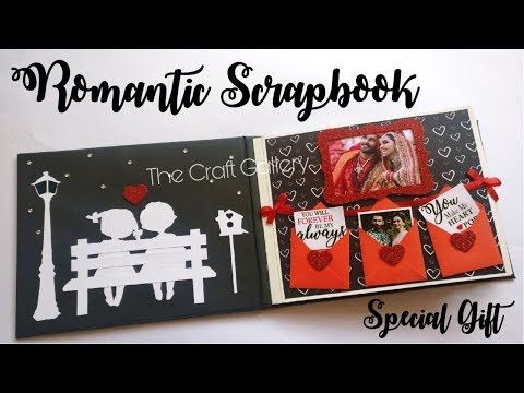 Photo Album Scrapbook for Valentine/'s Day Gifts for Him Valentine/'s Journal for Husband or Wife Valentine/'s Day Gift for Couples