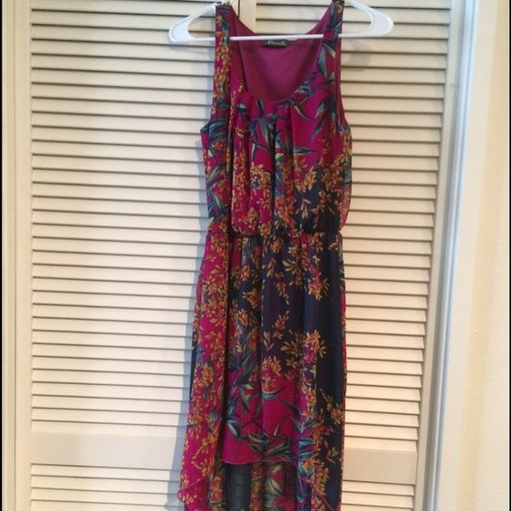 Boutique high low floral dress High low floral dress. Perfect for any occasion  . Dresses High Low
