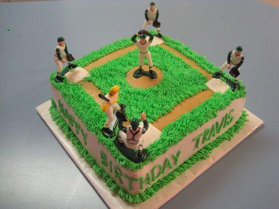 Baseball Diamond  on Cake Central