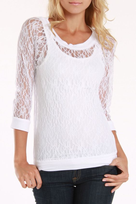 Flawless Lace Blouses