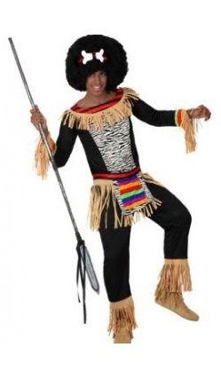 Déguisement Zoulou, peuple Africain