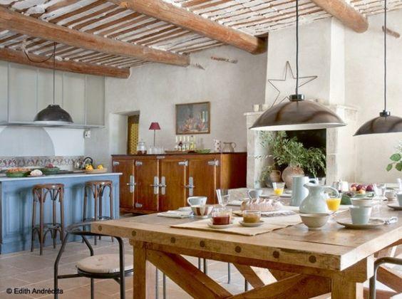 10 cuisines pour recevoir d co bar et tables for Deco cuisine 1950
