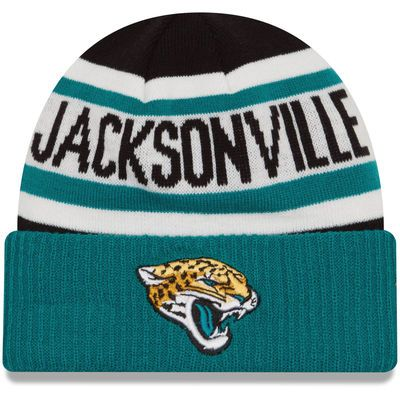 Jacksonville Jaguars New Era Youth Biggest Fan 2.0 Cuffed Knit Hat ... fa6653a38431
